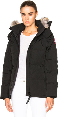 Canada Goose Chelsea Parka with Coyote Fur $825 thestylecure.com