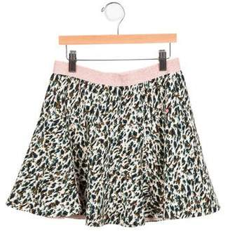 Catimini Girls' Abstract A-Line Skirt