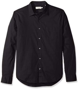 Vince Men's Garment Washed Shirt