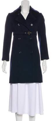 Celine Knee-Length Wool Coat