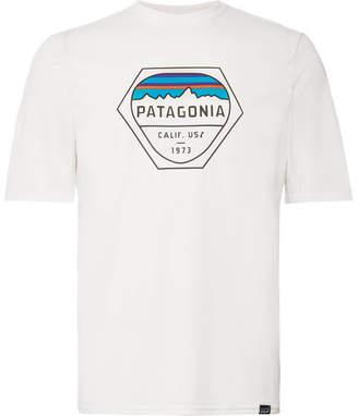 Patagonia Logo-Print Capilene Jersey T-Shirt