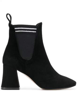Marc Ellis block chelsea boots