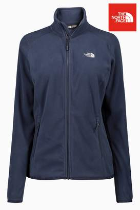 Next The North Face Womens 100 Glacier Full Zip Jacket Blue X