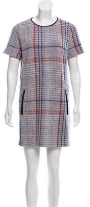 Rhié Wool Plaid Shift Dress