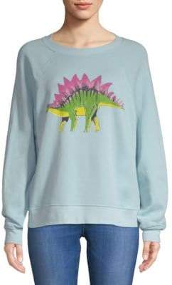 Wildfox Couture Dinosaur Graphic Sweatshirt