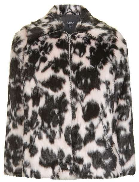 TopshopTopshop Sweet dreams faux fur coat