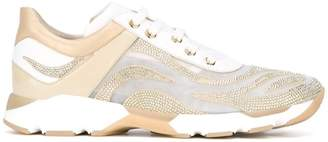 Rene Caovilla embellished running sneakers