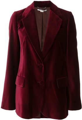 Stella McCartney classic velvet blazer