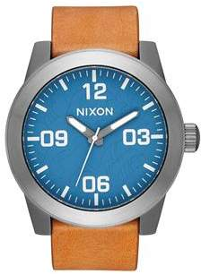 Nixon Corporal Navy Gunmetal Watch