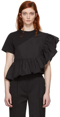 3.1 Phillip Lim Black Flamenco T-Shirt