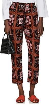 Natalie Martin Women's Bianca Tile-Print Pants