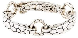 John Hardy Kali Pebble Bar Link Bracelet