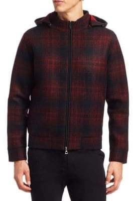 MODERN Plaid Full Zip Jacket