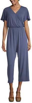 Arizona Short Sleeve Jumpsuit-Juniors
