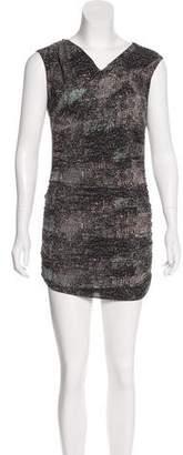 IRO Draped Sleeveless Dress