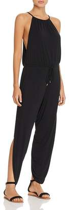 Laundry by Shelli Segal Draped Jumpsuit Swim Cover-Up