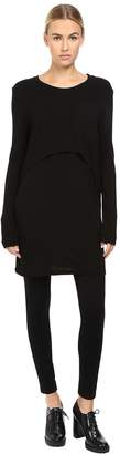 Limi Feu Layered Pop Over Long Sleeve Top