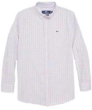 Winding Bay Gingham Woven Shirt