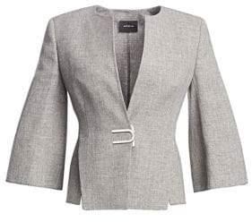 Akris Anais Three-Quarter Sleeve Jacket