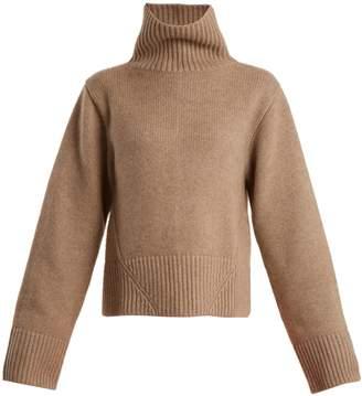 Wallis KHAITE high-neck cashmere sweater