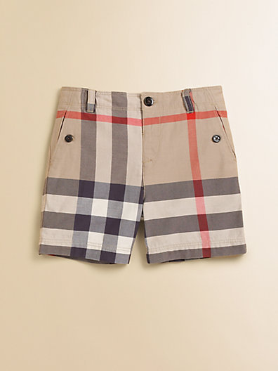 Burberry Toddler's Check Shorts
