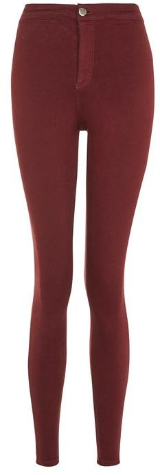 Topshop Topshop Moto red joni jeans