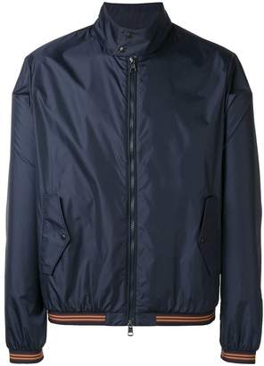 Moncler contrast trim lightweight jacket
