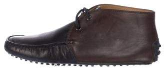 Tod's Chukka Driving Loafers