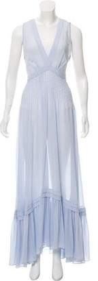 Philosophy di Lorenzo Serafini Sheer Maxi Dress