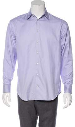 Armani Collezioni Long Sleeve Button-Up Shirt