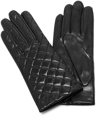 Maison Fabre Quilted Leather Gloves