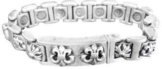 Chrome Hearts Sterling Silver Link Bracelet
