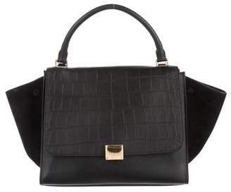 Céline Stamped Medium Trapeze Bag