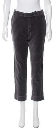 Band Of Outsiders Corduroy Mid-Rise Pants