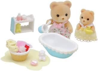Sylvanian Families Baby Bath Time.