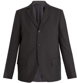 Acne Studios Lund single-breasted wool-blend blazer