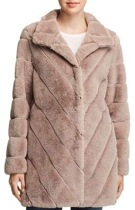 Calvin Klein Faux Fur Coat