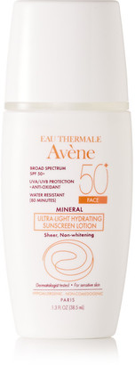 Avene - Spf50 Mineral Ultra-light Hydrating Sunscreen Lotion, 38.5ml - one size $28 thestylecure.com