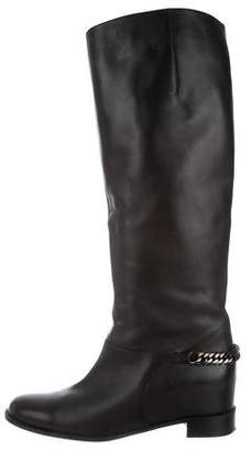 Christian Louboutin Leather Over-The-Knee Boots