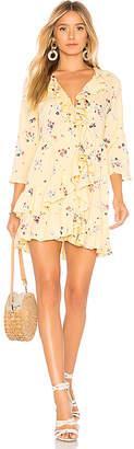 AUGUSTE Desert Dandelion Grace Mini Dress