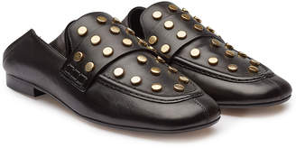 Isabel Marant Feenie Embellished Leather Loafers
