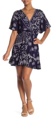 Angie Short Sleeve Flowy Dress