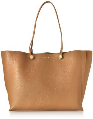 Furla Caramel Eden Medium Tote Bag