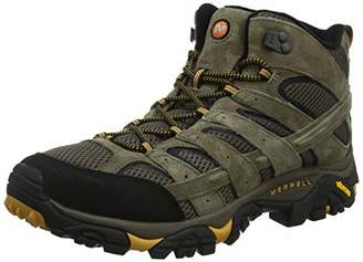 8e67e258d70ca Merrell Men s Moab 2 Mid Vent High Rise Hiking Boots