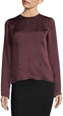 Narciso Rodriguez Women's Silk Georgette Blouse