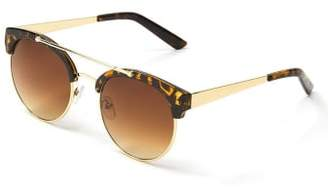 Penningtons Round Gold Frame Sunglasses