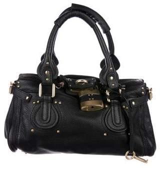 Chloé Leather Satchel Bag