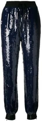 Tommy Hilfiger sequin embellished track pants