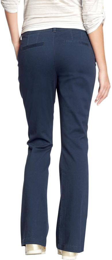 Old Navy Women's The Sweetheart Everyday Boot-Cut Khakis