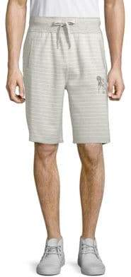 PRPS Oneness Front Striped Shorts